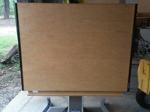 Mayline Futur Matic Electric Drafting Table X EBay - Electric drafting table