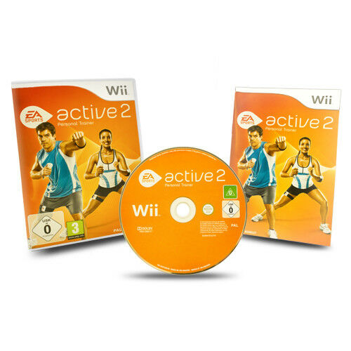 Nintendo Wii Spiel EA SPORTS ACTIVE 2 PERSONAL TRAINER in OVP mit Anleitung