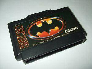 BATMAN-Nintendo-Famicom-FC-SUNSOFT-1989-Japan-import