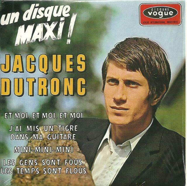 CD 4 TITRES  JACQUES DUTRONC