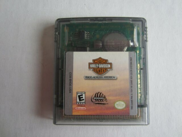Harley-Davidson:  Race Across America (Nintendo Game Boy Color, 2000)