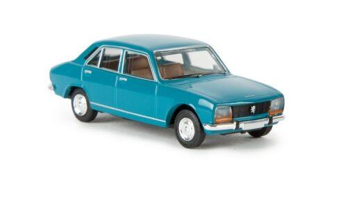 Grünblau Brekina 29113-1//87 Peugeot 504 Neu