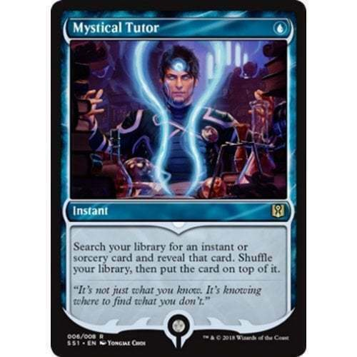 Magic the Gathering NM 1x MYSTICAL TUTOR MTG Jace Spellbook