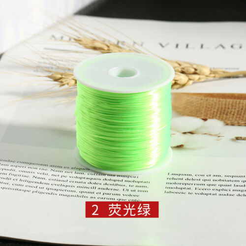 New Stretch Elastic Bracelet Necklace String Line Bead Jewelry Making Cord Wire