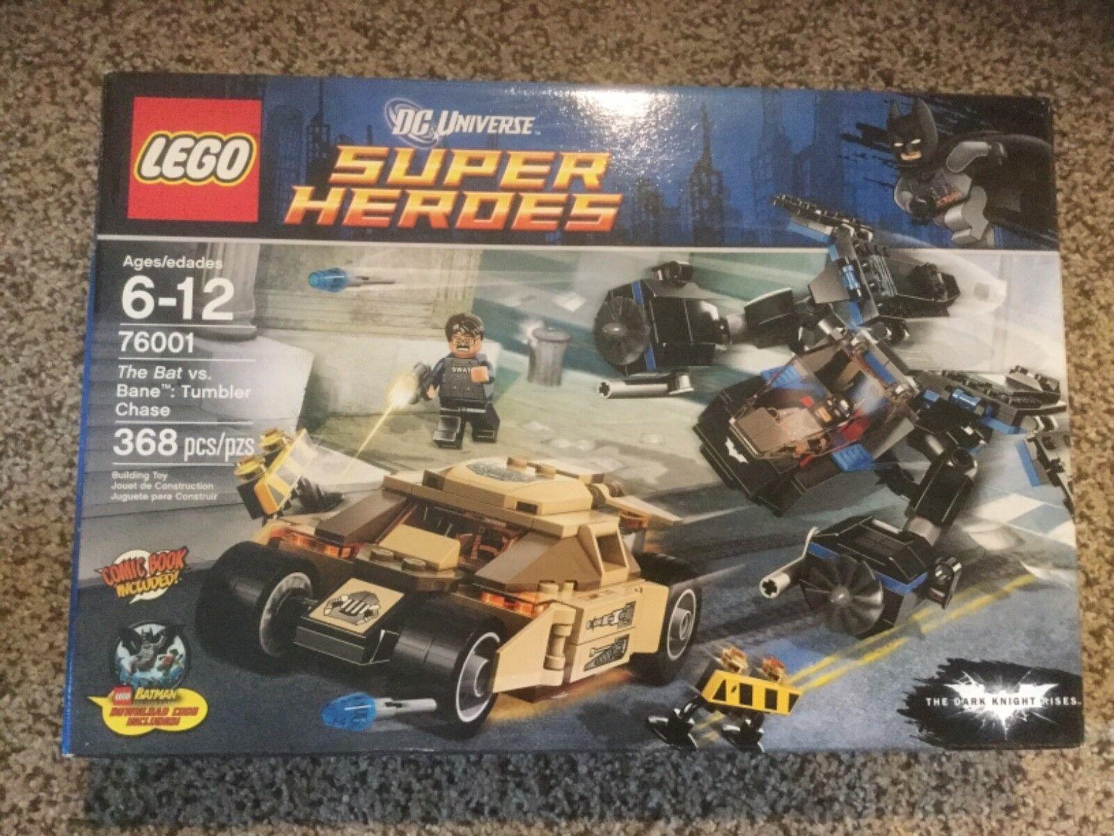 NIB LEGO Super Heroes The Bat Bat Bat vs. Bane Tumbler Chase (76001) 8a5be4