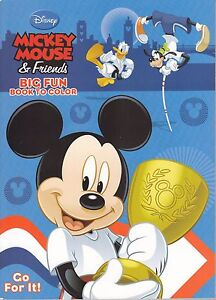 Disney Mickey Mouse Coloring Book Go For It Ebay