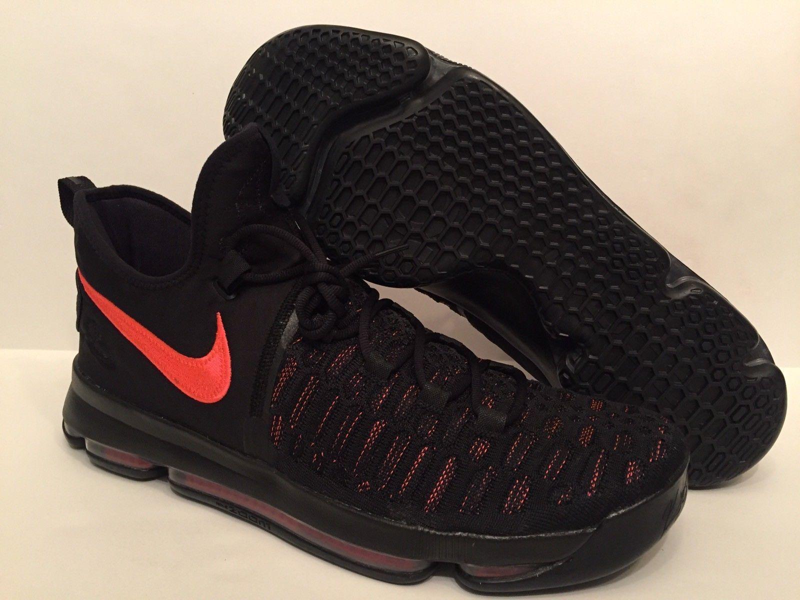 Nike Zoom KD 9 IX Aunt Pearl AP Kay Yow Black Pink QS 881796-060   Sz 10