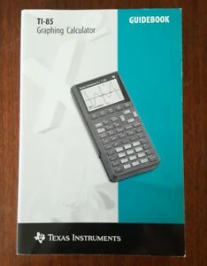 Texas-Instruments-TI-85-Graphing-Calculator-Guidebook-Instruction-Manual-Only
