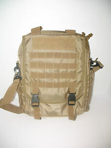 Beige Coyote Militare Forze Speciali Tactical Laptop Tablet Kindle Zaino