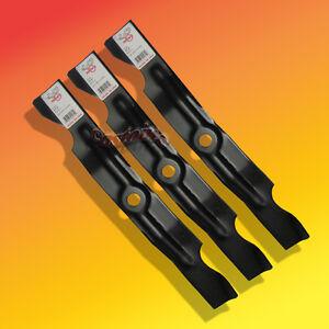 3 Mower Blades For Cub Cadet Series 1000 Hydrostatic Lawn