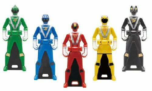 Kaizoku Sentai Gokaiger Ranger Key Series Ranger Key Set 06