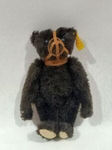 "Steiff Muzzle Brown Bear Historic Miniatures II Maulkorb Teddy 6"" Germany 029189"