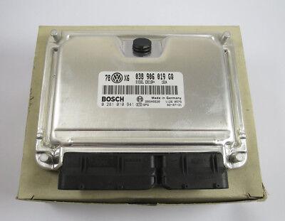 Motorsteuergerät AVF Audi A4 B6 VW Passat 3BG 1.9TDI Steuergerät 038906019GQ