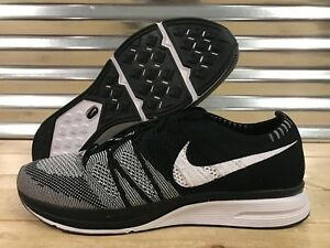 8c8dc727bbd5 Nike Flyknit Trainer Shoes Oreo Black White Cookies SZ ( AH8396-005 ...