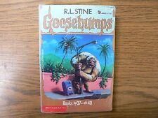 GOOSEBUMPS - BOXED SET 37- 40: UNOPENED CELLOPHANE SEALED 4 PACK. NEW!