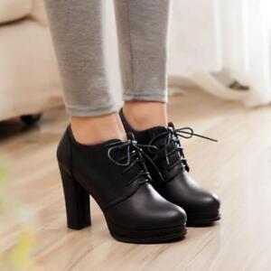 Chunky Heel Oxfords