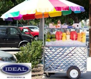 Concession cart - stainless steel - BRAND NEW Canada Preview