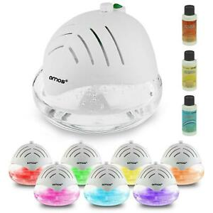 Air Purifier Cleaner Freshener Humidifier Ioniser Colour Changing LED Light-UK