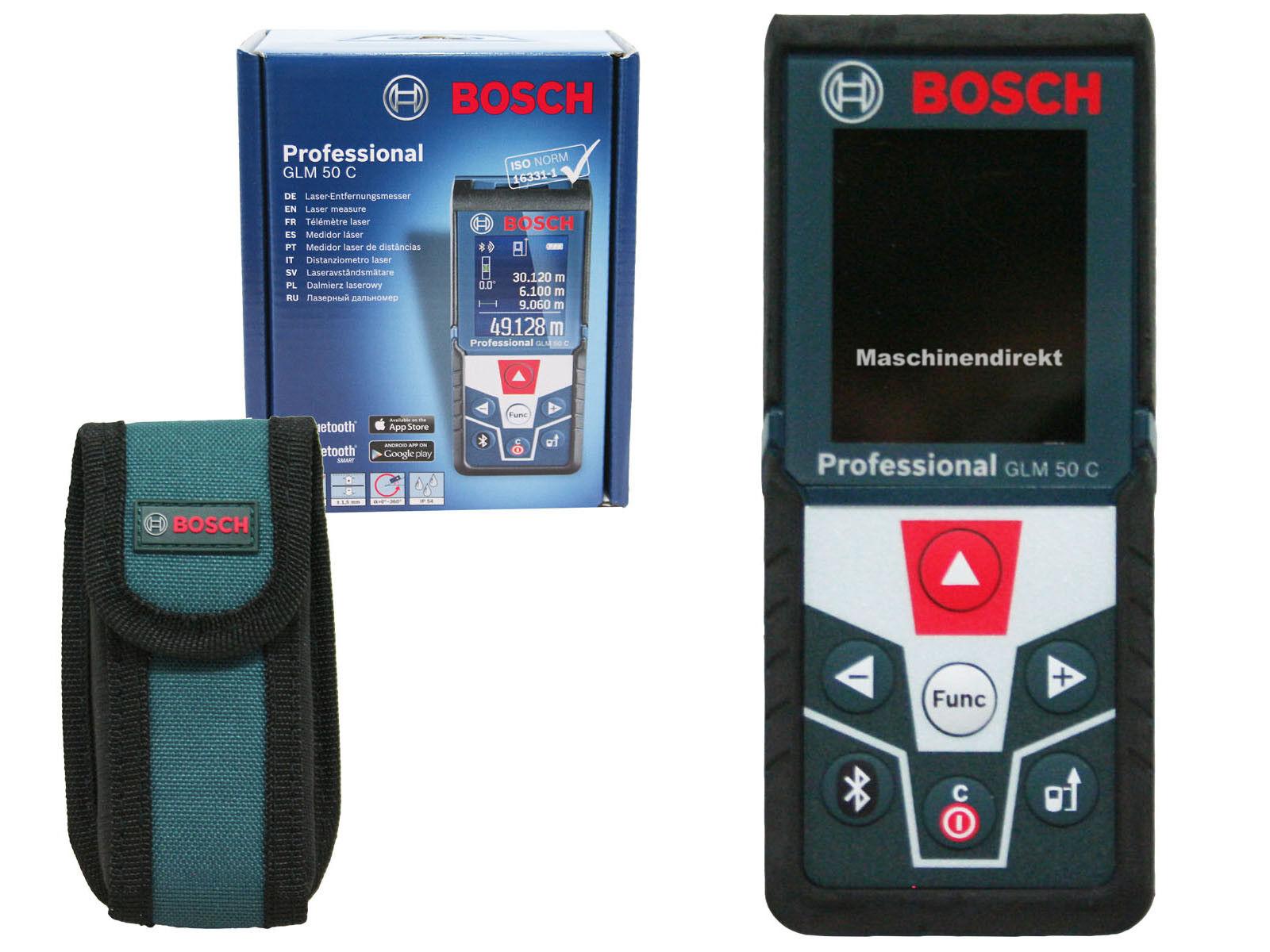 Bosch glm 50 c professional laser entfernungsmesser ebay