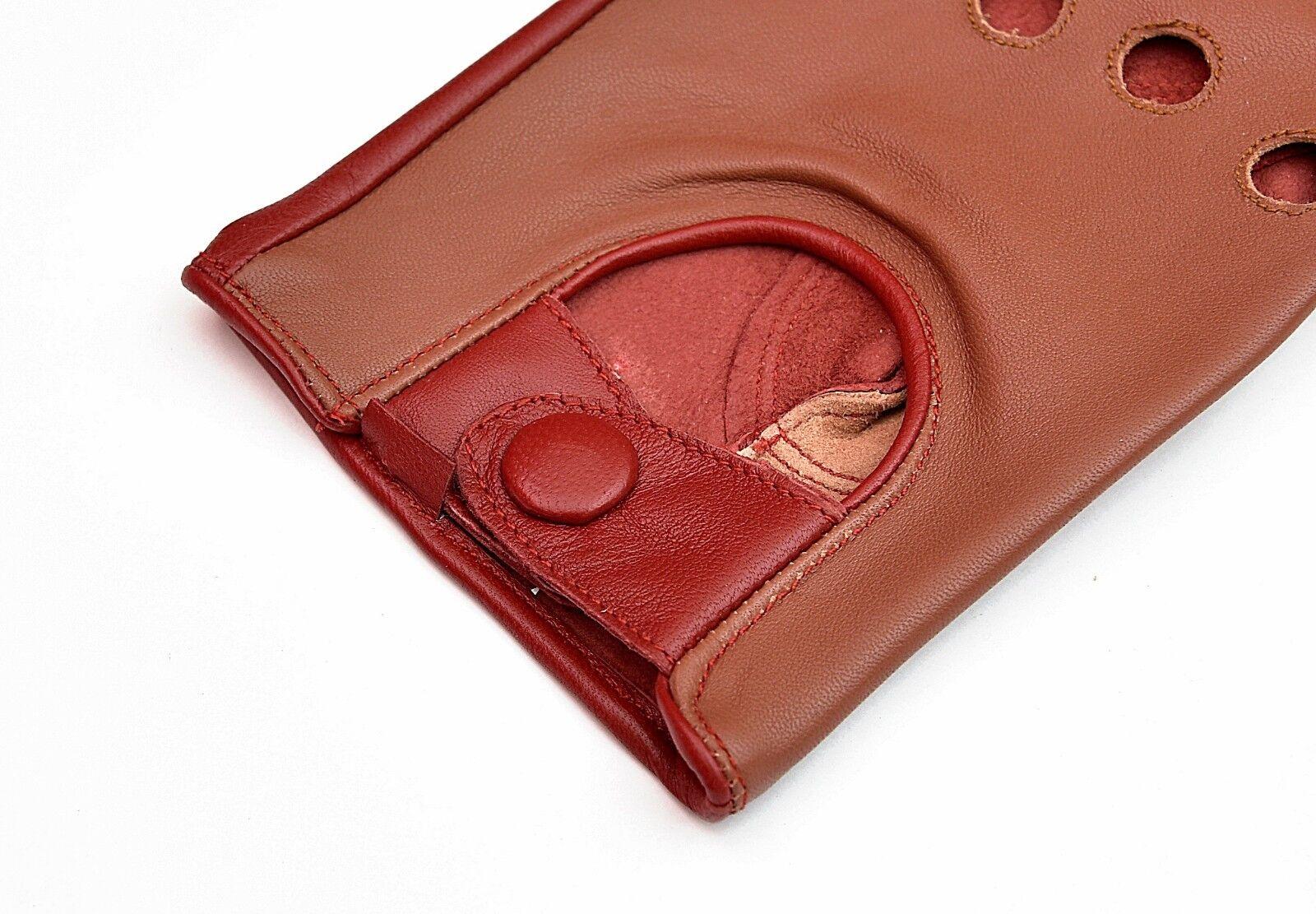 Zweiton Nicht Gefüttert Leder Fahrhandschuhe | Grüne, Grüne, Grüne, neue Technologie  31982a