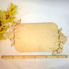 Hochzeitsplatte 28cm Blanco Untergrund für Hochzeit Geschenke Verpackung Holz
