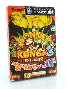 Donkey-Konga-3-Nintendo-Gamecube-GC-JAP-Japan-complet