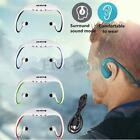 Sport Wireless Headset MP3 Music Player FM Radio Headphone Micro SD Ear Loop USB