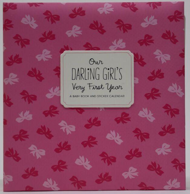 Hallmark BBA7045 Our Darling Girls First Year Album EBay