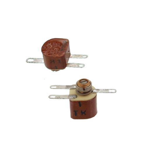 30pcs 1.5-10pF 160V Air Trimmer Capacitors KT2-18 USSR  New Old Stock