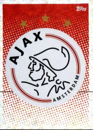 Topps Champions League 2020//21 Sticker AJA1 AFC Ajax Badge