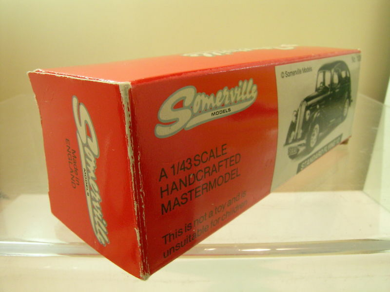 SOMERVILLE MODELS No.106 STANDARD FLYING 12 12 12 COLOUR BROWN BOXED SCALE 1 43 2acee8