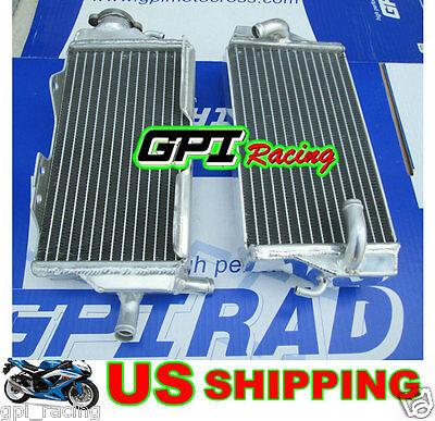 GPI R&L aluminum radiator Honda CR125 CR 125R CR125R 00-01  2000 2001