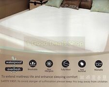 Waterproof  Washable Mattress Protector Sheet Wet Matress Cover Gift Double Size