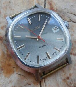 Men's vintage soviet mechanical wrist watch POLJOT cal. 2614.2H, USSR, 1980s