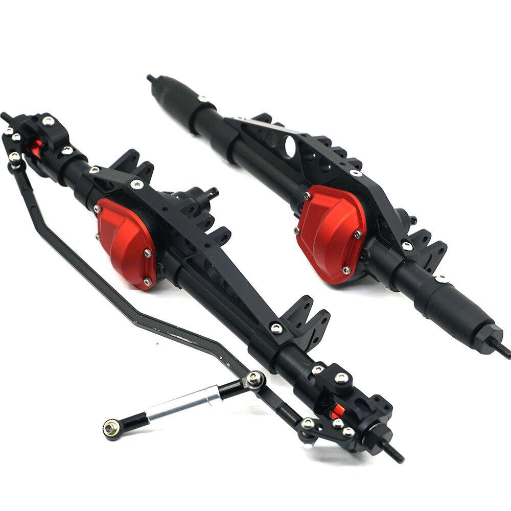 Alloy Front & Rear Axle Set for AXIAL Wraith AX90018 90048 90053 1 10 RC Crawler