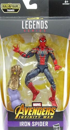 "MARVEL Legends Avengers 16 cm Figure Hasbro IRON SPIDER//SPIDER-MAN 6/""//ca"