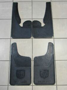 OEM MOPAR Front Heavy Duty Rubber Mud Flaps Splash Guards 09-16 Ram 82215779AB