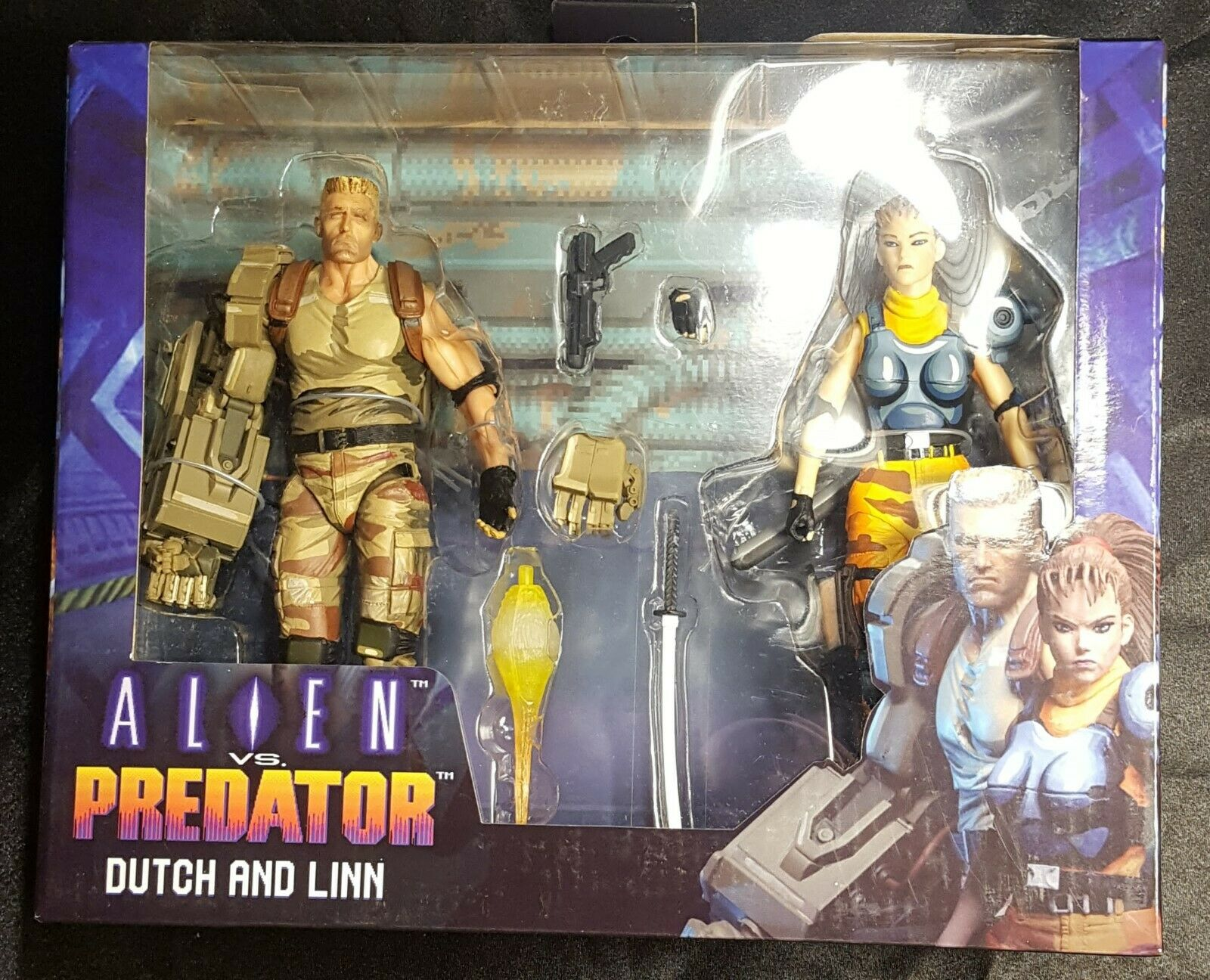Alien vs Prossoator Dutch e Linn 2Pack Neca