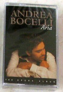 ANDREA-BOCELLI-ARIA-Musicassetta-Sigillata-MC-K7