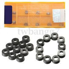 10pcs Metal RCMT0602M0 NX2525 CNC INSERT Carbide Inserts Tools Durable + Box
