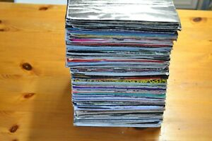 INSTANT-STARTER-RECORD-COLLECTION-20-X-7-VINYL-ALL-1980s-ALL-PLAIN-SLEEVES