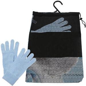 b95d5d40231f5 Storage Bag for Winter Hats Gloves Scarves Hanging Drawstring Tote ...