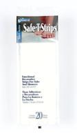 Safe-T-Strips White Non-Slip Safety Applique Mat Stickers - Bath, Tub & Shower .