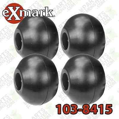 Set Of 4 Anti Scalp Roller Wheel Replaces Exmark 103-8415 - Oregon 72-020