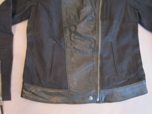 Lucky Veste Brand Taille L En Moto Cuir Neuf Grand Pour Rare Noir Mix En Cuir De r5r1qwxFp