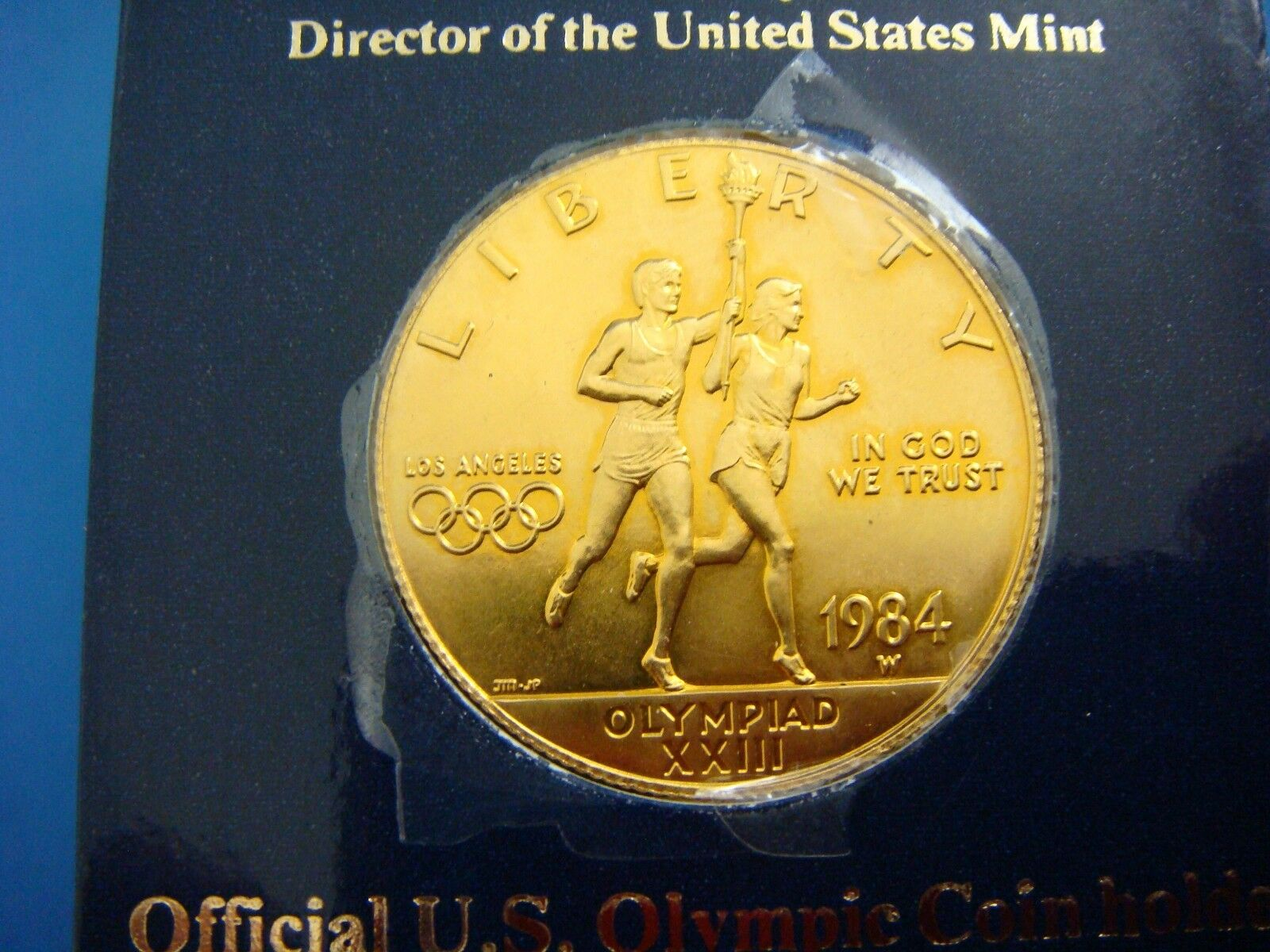 1984 Los Angeles Olympic Gold Ten Dollar Liberty Coin 16 7
