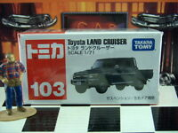 Tomica 103 Toyota Land Cruiser 1/71 Scale In Box