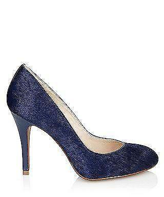 JUICY COUTURE Damenschuhe COURT Schuhe - SHELL - REGAL HAIRCALF- NAVY HAIRCALF- REGAL SZ 6UK 256a8d