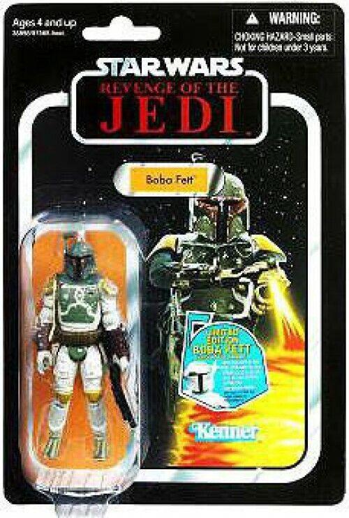 Star Wars Return of the Jedi Vintage Collection 2011 Boba Fett Action Figure  09