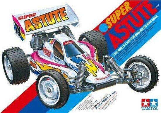 Tamiya 47381 Super Astute Reissue Radio Control RC Kit  (CAR WITHOUT ESC)